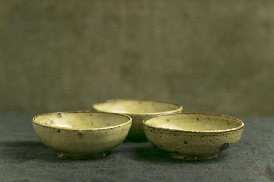 画像4: 田村文宏「灰粉引深皿4寸」