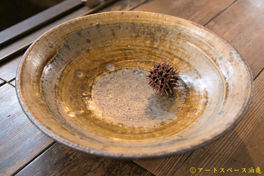 画像1: 田村文宏 灰釉 刷毛目鉢