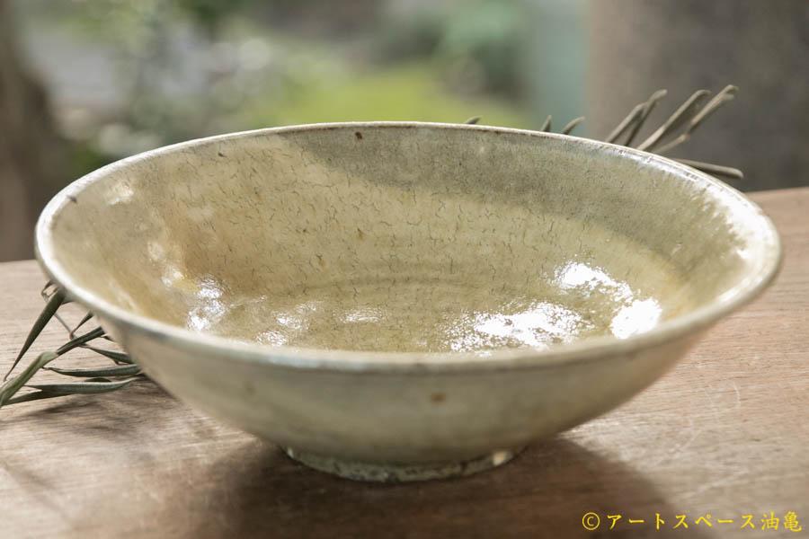 画像1: 田村文宏 灰釉粉引 鉢