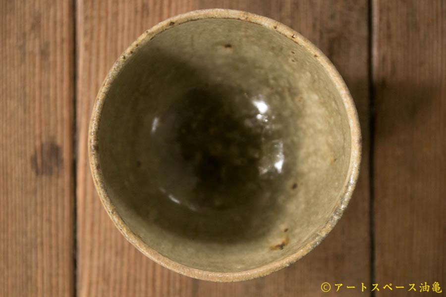 画像2: 田村文宏 灰釉粉引 丸湯呑