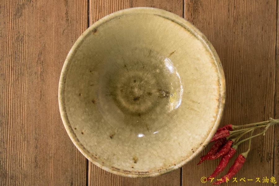 画像3: 田村文宏 灰釉粉引 どんぶり