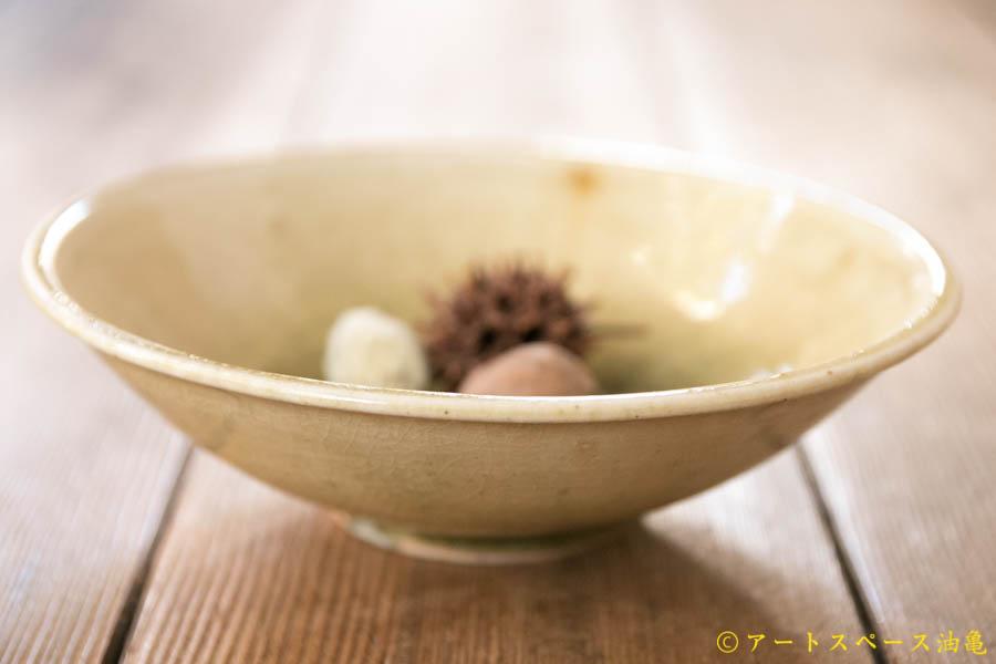 画像2: 田村文宏 灰釉 櫛目鉢