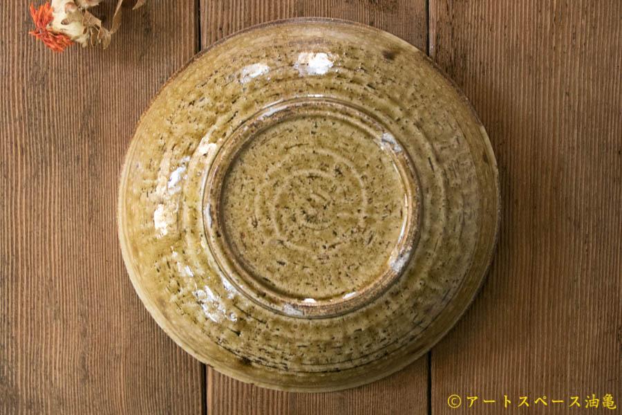 画像4: 田村文宏 灰釉 刷毛目 鉢