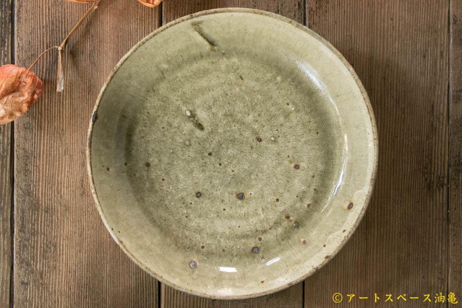 画像3: 田村文宏 灰釉粉引 深皿