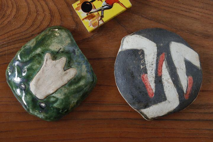 画像2: タナベヨシミ「はりつけ 豆皿」