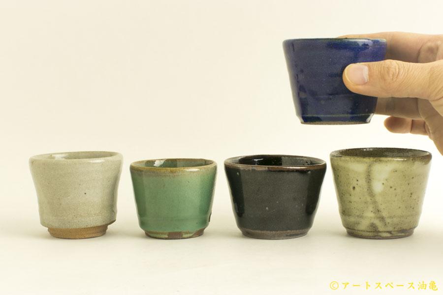 油亀のweb通販「油亀ジャーナル」より栃木県の陶芸家、寺村光輔さんの猪口