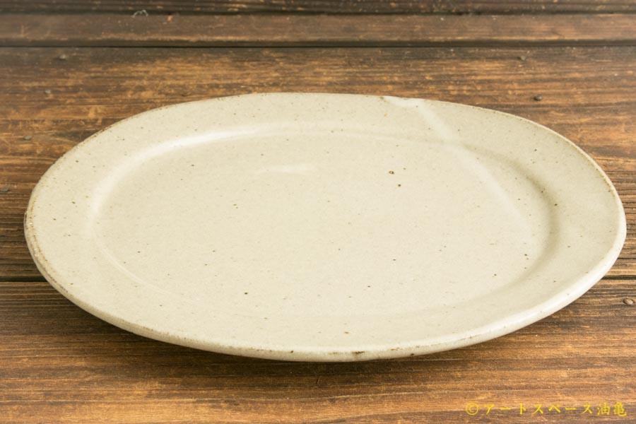 画像4: 寺村光輔「泥並釉 オーバルプレートR」