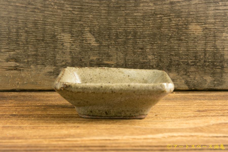画像2: 寺村光輔「長石釉 豆角皿」