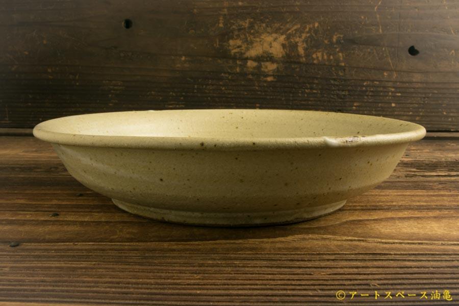 画像3: 寺村光輔「堅糠釉 7.5寸浅鉢」