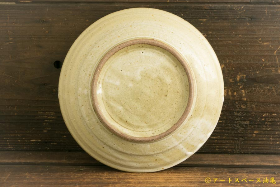 画像4: 寺村光輔「堅糠釉 7寸リム皿」