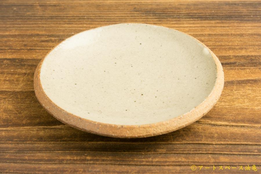 画像2: 寺村光輔「泥並釉 4寸丸皿(薪)」