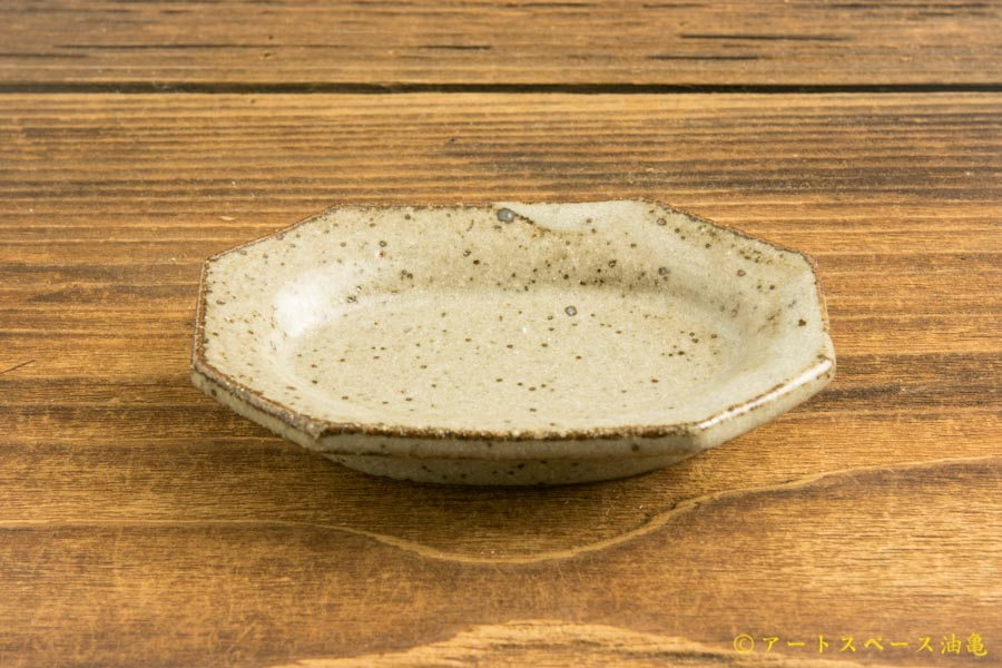 画像2: 寺村光輔「長石釉 オクトゴナル 豆皿」