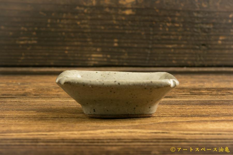 画像4: 寺村光輔「泥並釉 隅入小皿」