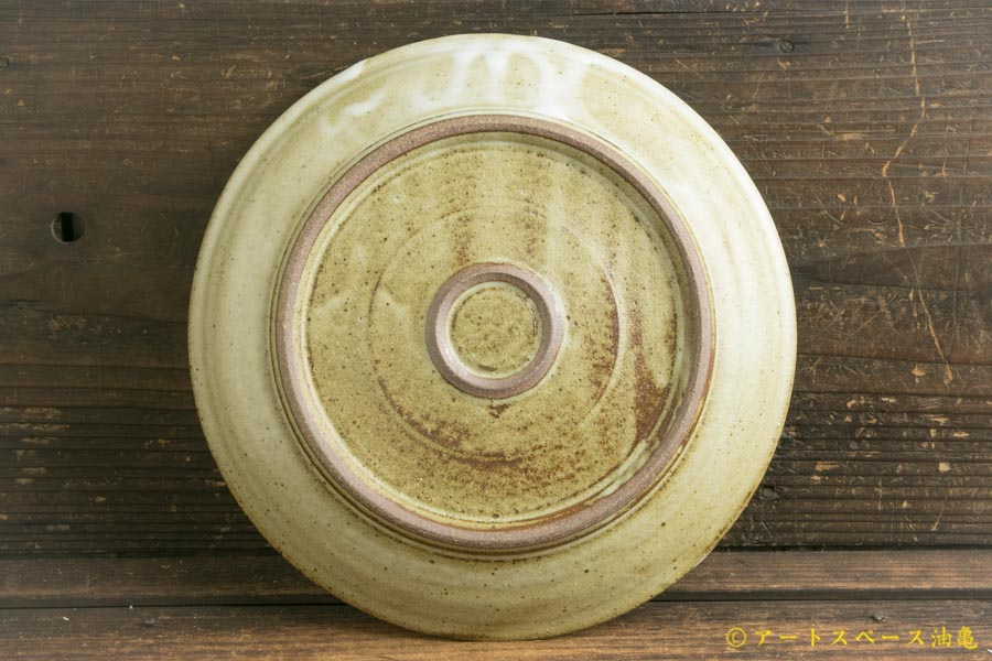 画像4: 寺村光輔「林檎灰釉 7寸皿」