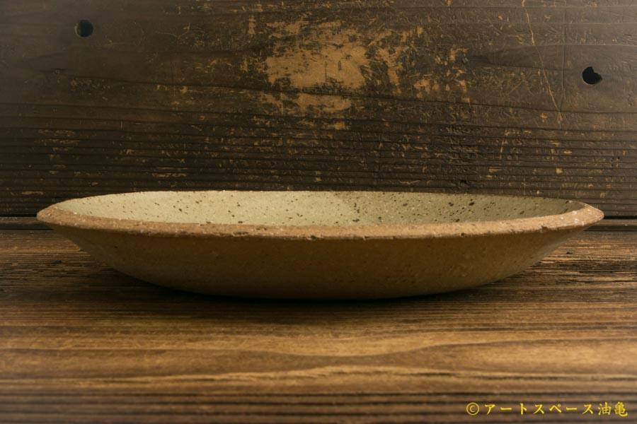 画像3: 寺村光輔「並白釉 8寸丸皿(薪)」
