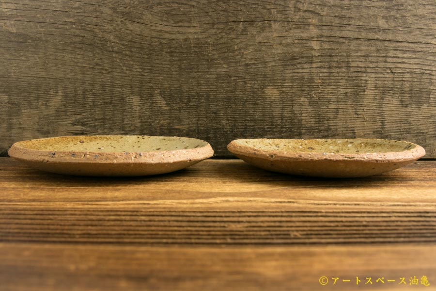 画像2: 寺村光輔「並白釉 4寸丸皿」