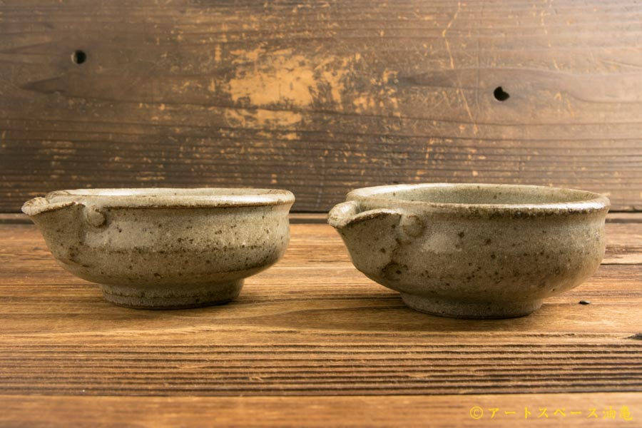 画像1: 寺村光輔「長石釉 片口小鉢」
