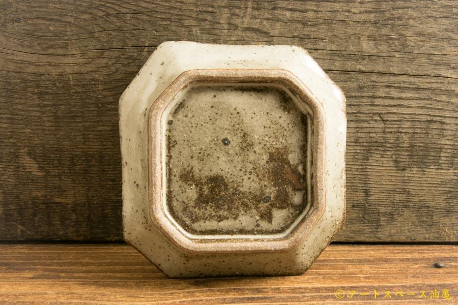 画像2: 寺村光輔「長石釉 隅入小皿」