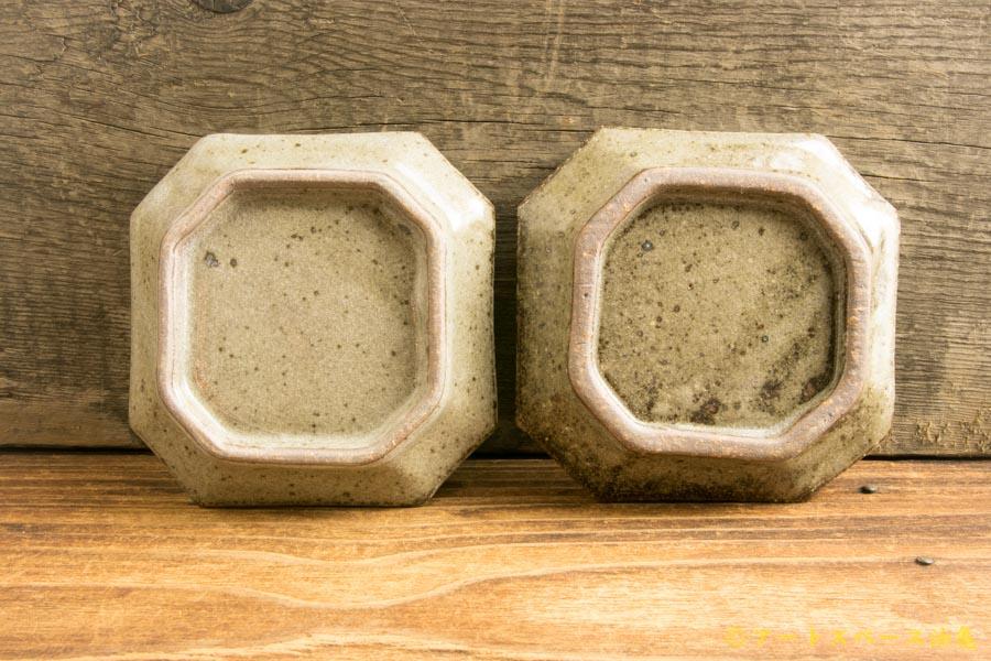 画像3: 寺村光輔「長石釉 隅入小皿」