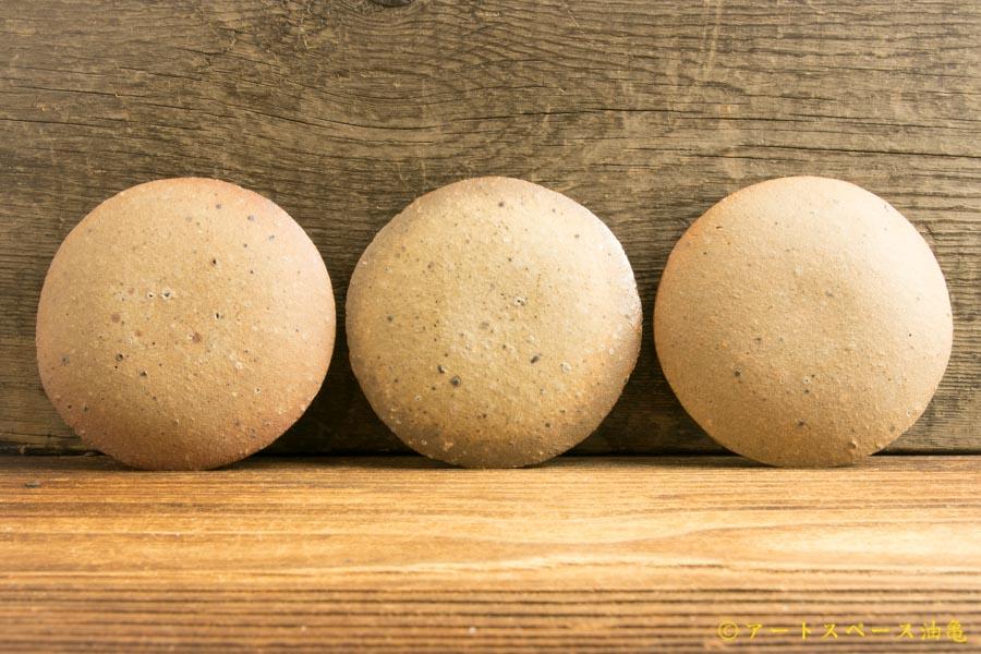 画像3: 寺村光輔「並白釉 3寸丸皿(薪)」