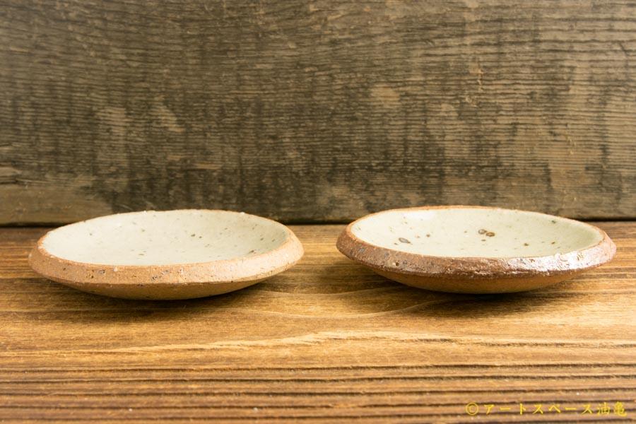 画像2: 寺村光輔「泥並釉 3寸丸皿(薪)」