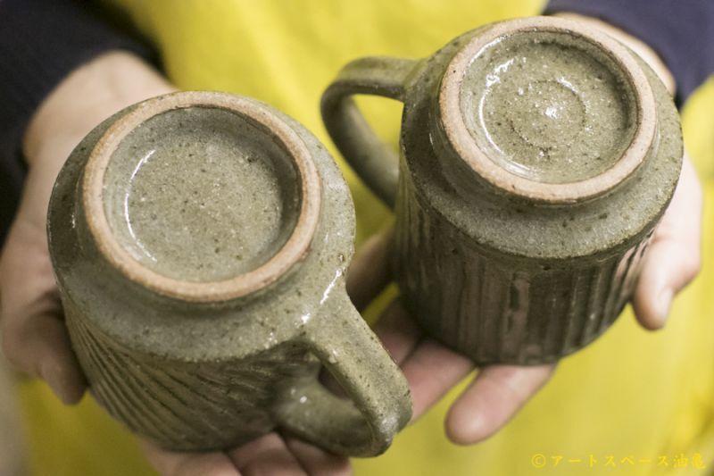 画像5: 寺村光輔「長石釉 鎬マグカップ」
