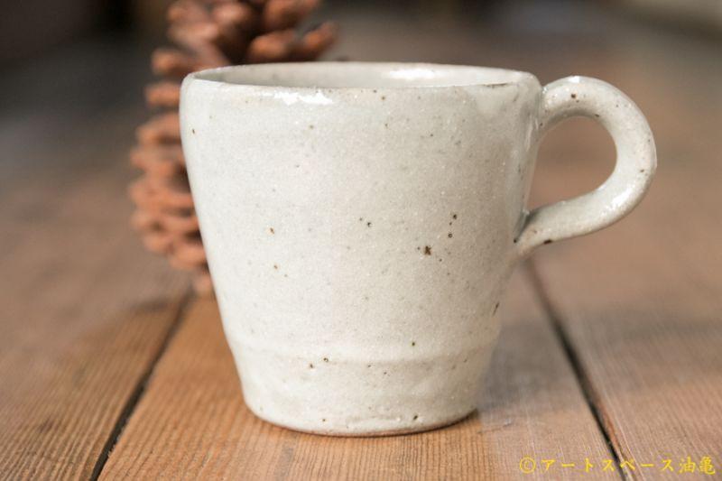 画像1: 寺村光輔  泥並釉 マグカップ小
