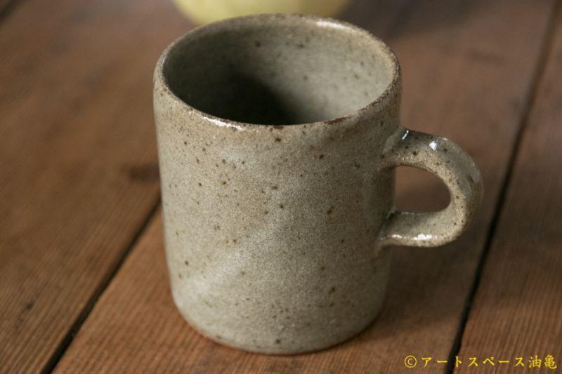 画像1: 寺村光輔  長石釉 マグカップ小
