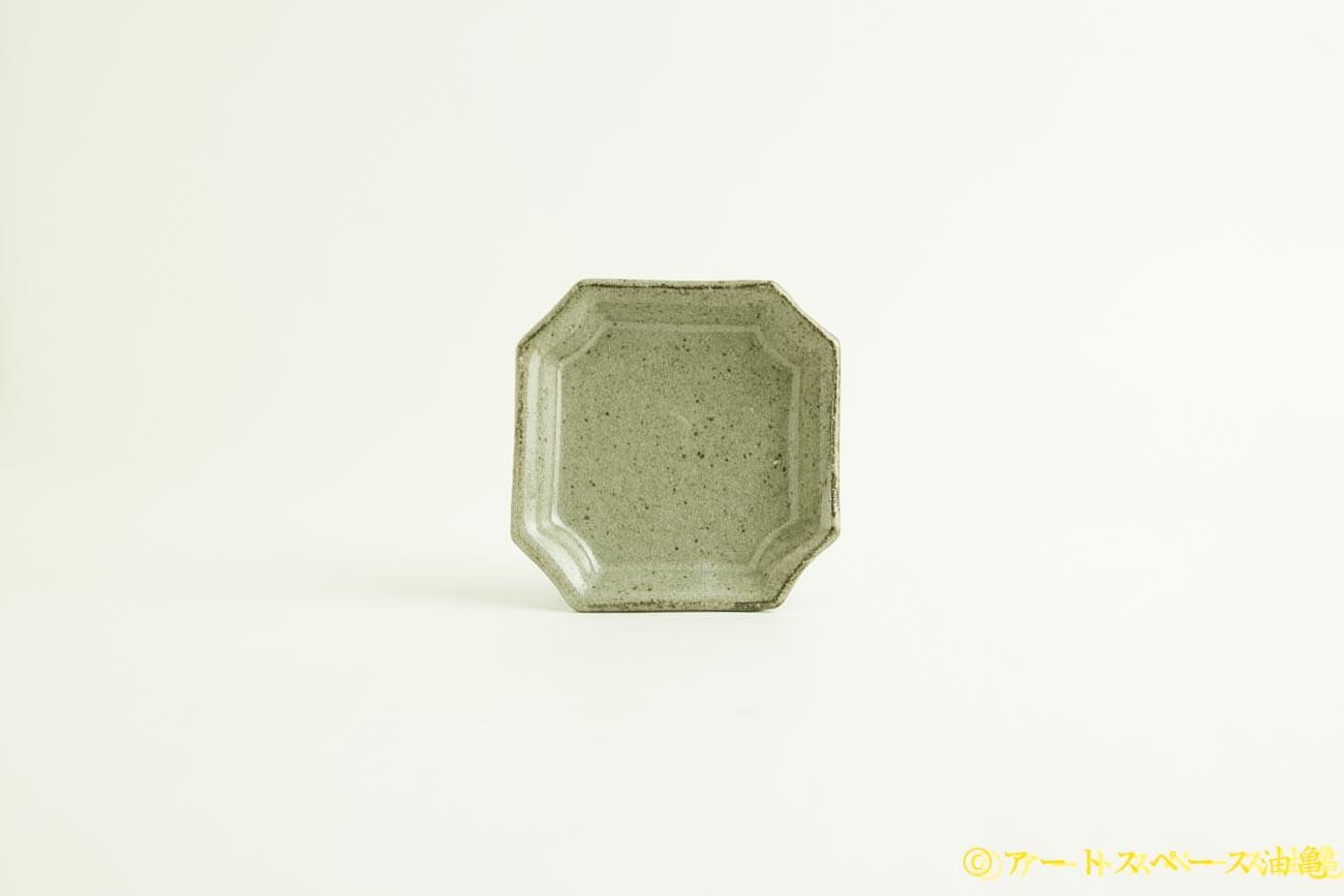 画像1: 寺村光輔「長石釉 隅入小皿」