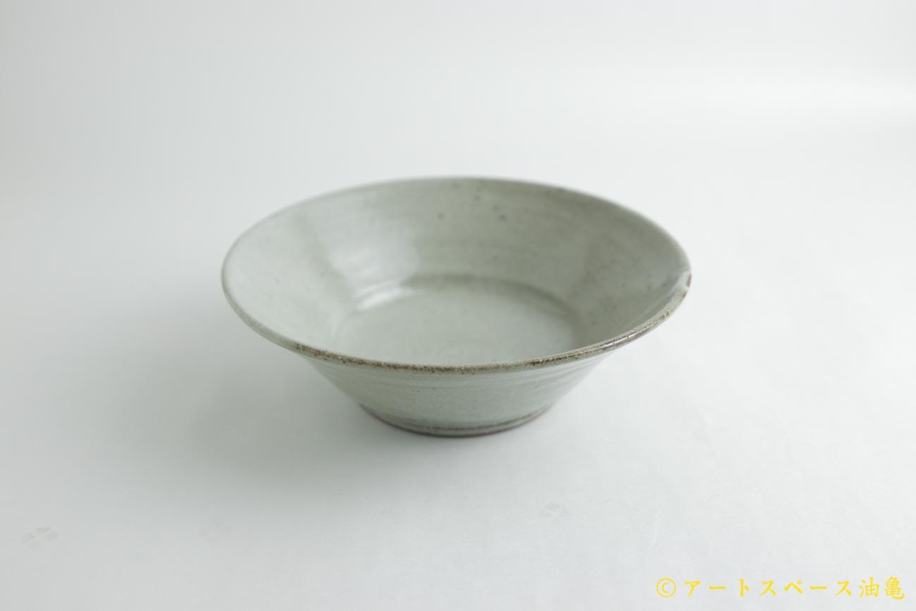 画像1: 寺村光輔「泥並釉 6.5寸浅鉢」
