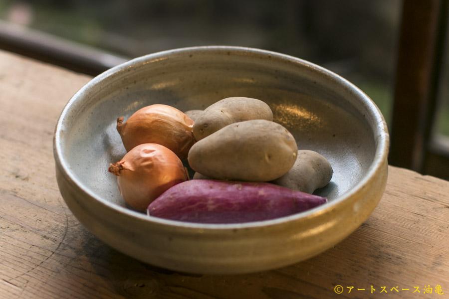 画像1: 寺村光輔「白釉 大鉢」<一品作>