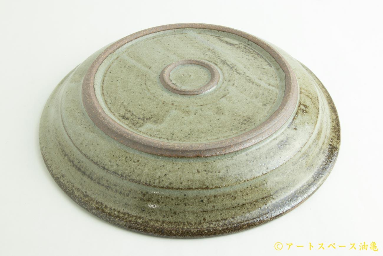 画像4: 寺村光輔「長石釉 8寸リム浅鉢」