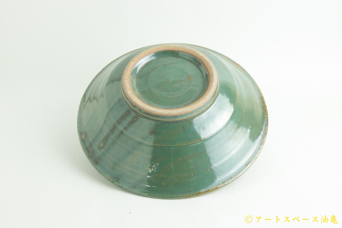 画像5: 寺村光輔「糠青磁釉 8寸鉢」