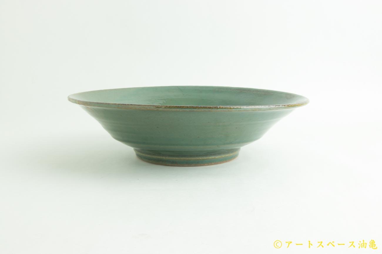 画像3: 寺村光輔「糠青磁釉 8寸鉢」