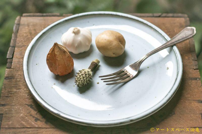 画像2: 遠山貴弘 丸平皿 (ま乳)【アソート作品】