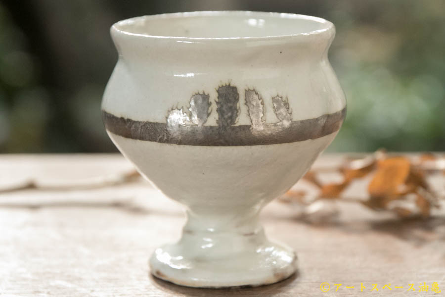 画像1: 古谷浩一 銀彩 ワイン杯