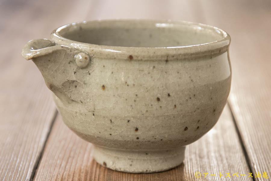 画像1: 寺村光輔 泥並釉 片口(薪)