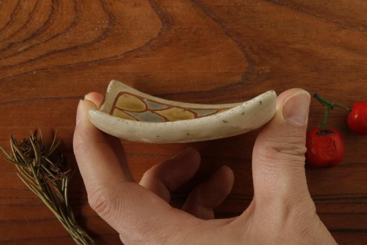 画像3: 馬川祐輔「角 豆皿」