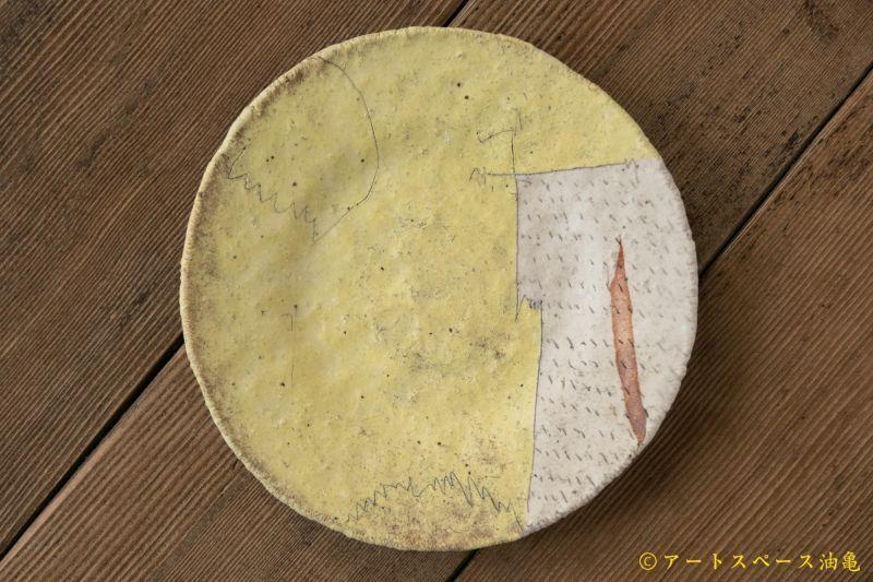 画像1: 馬川祐輔 5寸皿(手捻り)
