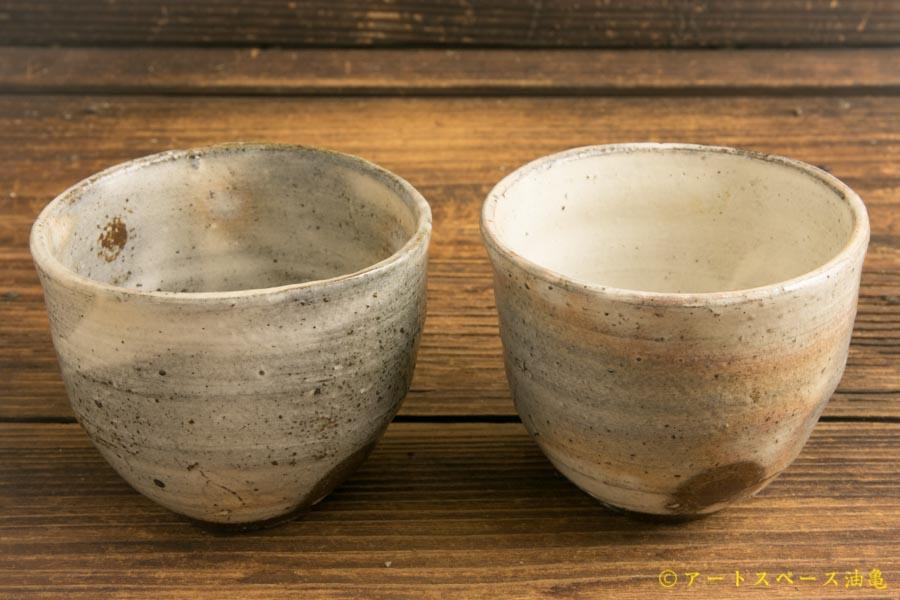 画像3: 梅田健太郎「粉引唐津 丸杯」
