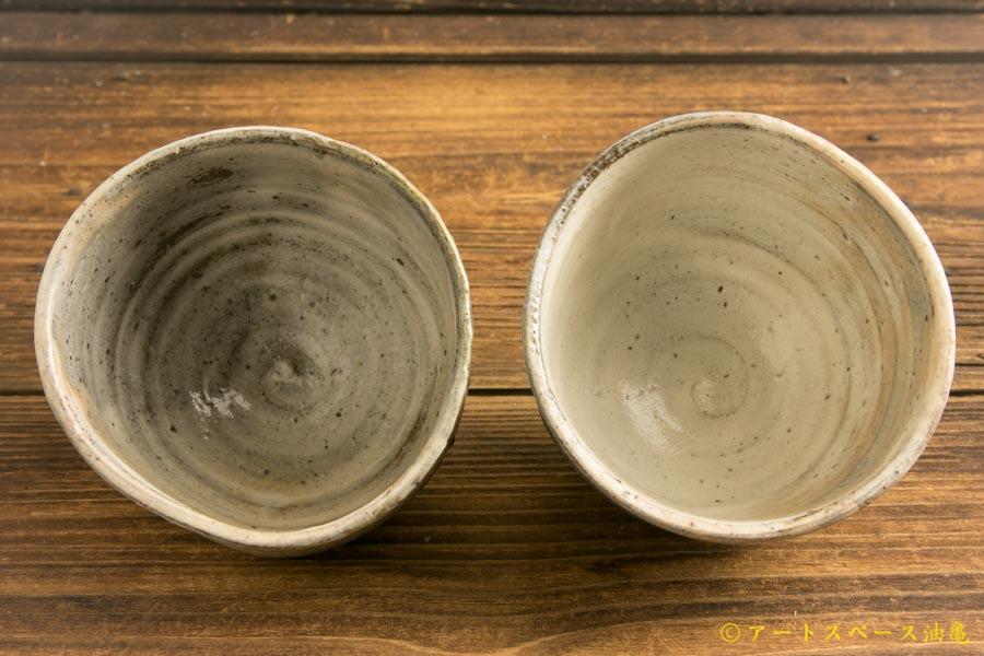画像4: 梅田健太郎「粉引唐津 丸杯」