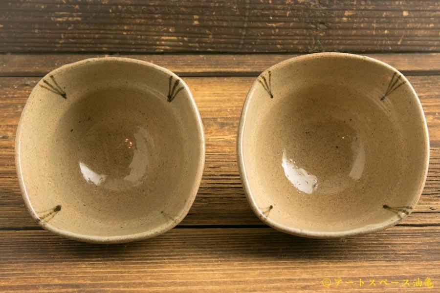 画像4: 梅田健太郎「絵唐津 四方小鉢」