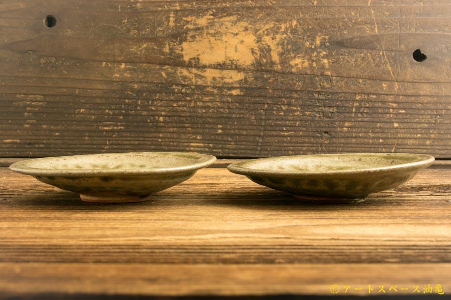 画像3: 梅田健太郎「青唐津 四寸皿」