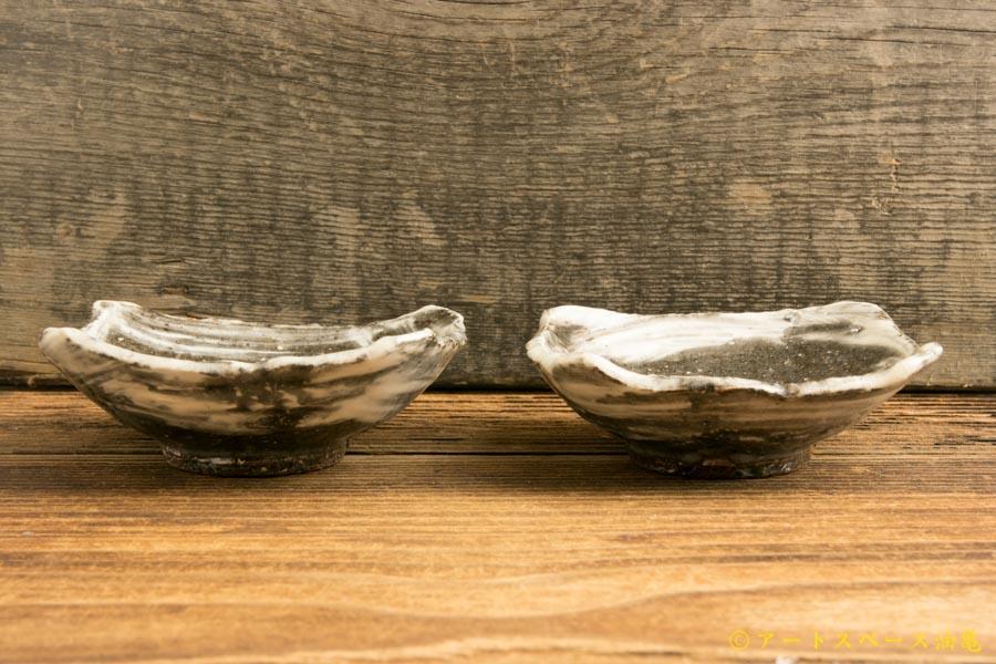 画像3: 梅田健太郎「刷毛目唐津 四方豆皿」