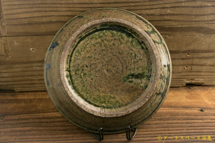 画像3: 八木橋昇「茶呉須 5寸盆皿」