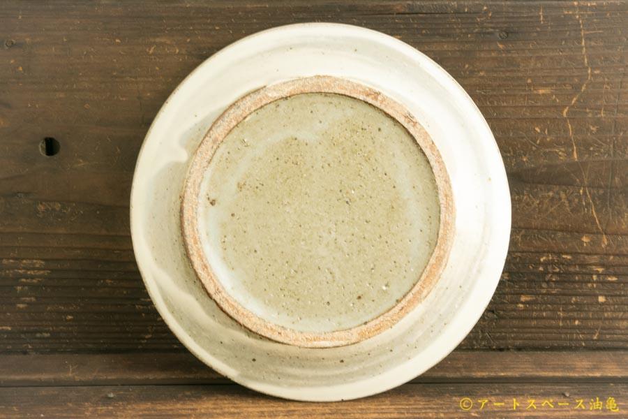 画像4: 八木橋昇「粉引マット リム皿7寸」