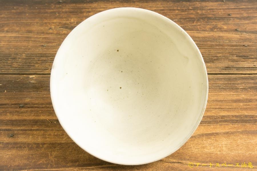 画像3: 八木橋昇「粉引マット 飯碗大」