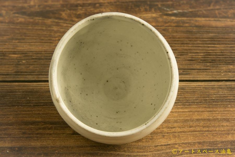 画像3: 八木橋昇「粉引きマット 丸カップ」