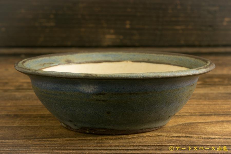 画像2: 八木橋昇 「耐熱青白 リム小鉢」