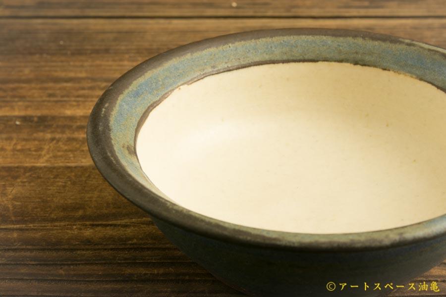 画像4: 八木橋昇 「耐熱青白 リム小鉢」